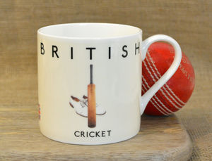 Best Of British Cricket Mug