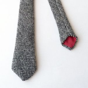Harris Tweed Skinny Tie - ties & tie clips