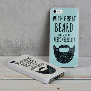 Great Beard Father's Day iPhone Case - bags & purses