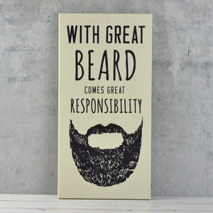 Great Beard Canvas - view all sale items