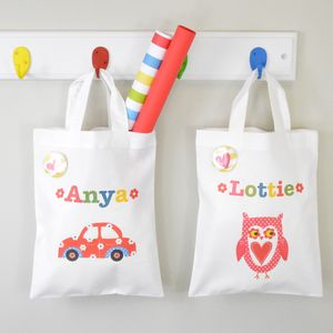 Girl's Personalised Mini Bag - stocking fillers under £15