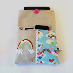 Rainbow Gadget Cover - tech accessories for her