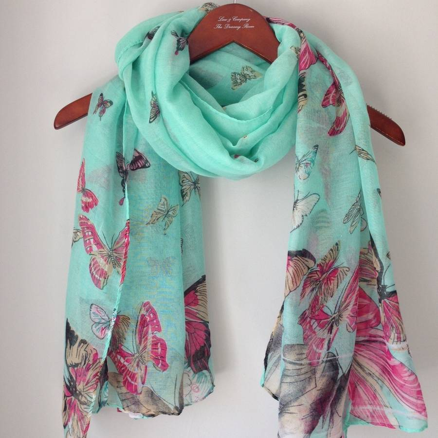 new butterfly scarf by and co emporium
