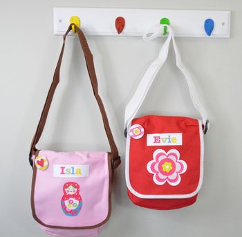 Girl's Personalised Lunch Bag