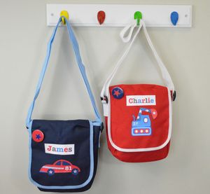 Boy's Personalised Lunch Bag - lunch boxes & bags