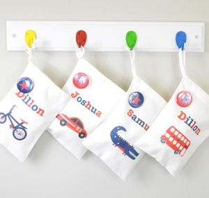 Boy's Personalised Party Bags - children's room accessories