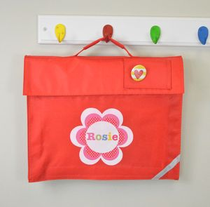 Girl's Personalised Book Bag - children's accessories
