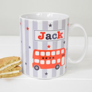 Boys Personalised Mug Various Designs - mugs