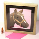 Personalised Pony Picture, Fine Art Print