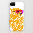Cool Cheetah With Sun Glasses On iPhone Case