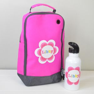 Girl's Personalised Sport Kit Bag And Bottle - bags, purses & wallets