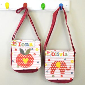 Girl's Personalised Shoulder Bag - children's room accessories