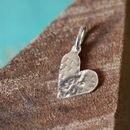 Handmade Medium Silver Initial Pendant