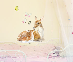 Deer Family - wall stickers