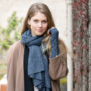 Alpaca Cable Knit Fingerless Mittens Special Price