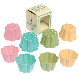 Retro Pantry Style Set Of Four Jelly Moulds - kitchen