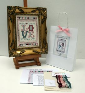 Wedding And Anniversary.Cross Stitch Sampler Kit