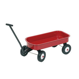 Choose From Two Pull Along Metal Carts - cars & trains