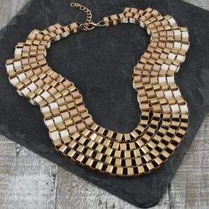 Ribbon Weave Necklace