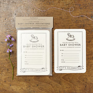 Baby Shower Invites - new baby & christening cards