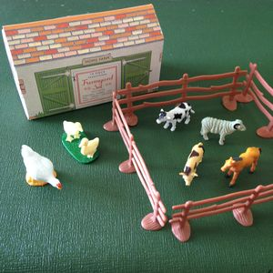 Mini Farmyard Set - traditional toys & games