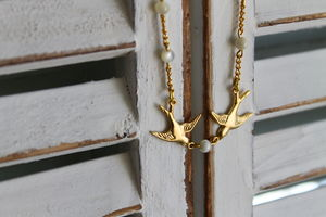 Children's Little Bird Told Me Necklace - necklaces