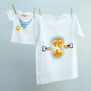 Matching Horse And Rider Tshirts For Dad And Child - clothing