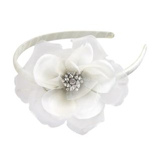 Beatrice Flower Girl Silk Headband - wedding fashion