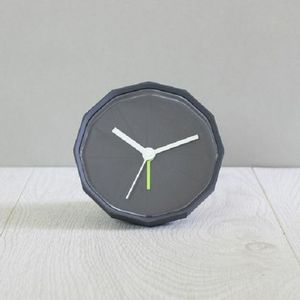 Rubber Analog Alarm Clock - clocks