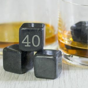 Whisky Black Magic Stones Set - drink & barware