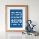 Dr Seuss 'Places You'll Go' Print