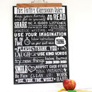 Personalised Teacher Classroom Rules