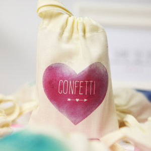 Confetti And Favour Bags - table decorations