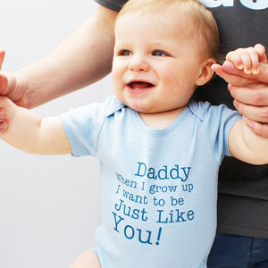 I Want To Be Like You Baby Bodysuit