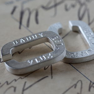 Personalised Hug Cufflinks - gifts for him