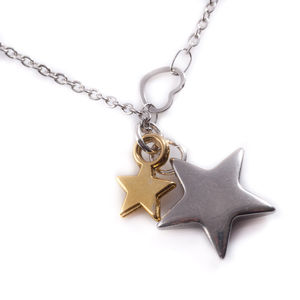 Double Star Necklace - women's jewellery