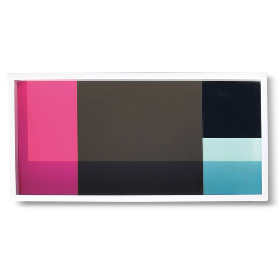 colour block nesting tray set by artful kids. Black Bedroom Furniture Sets. Home Design Ideas