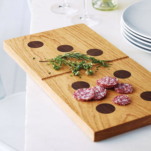 Handmade Domino Chopping Board