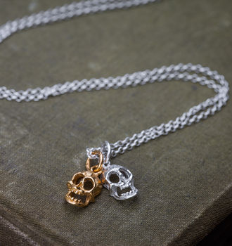 Double Skull Necklace