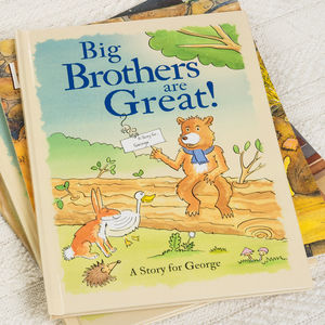 Personalised Big Brothers And Big Sisters Book - toys & games for children