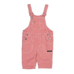 Cropped Cotton Twill Dungarees - clothing