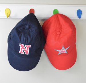 Boy's Personalised Baseball Cap