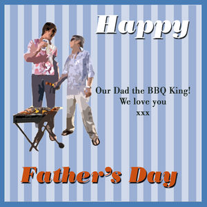 Barbecue Father's Day Card - seasonal cards
