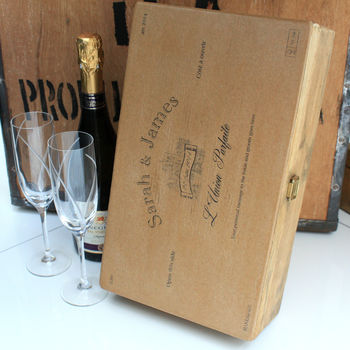 Wedding Gift Bottle Box