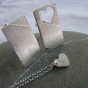 Wear Your Heart On Your Sleeve Cufflinks - men's accessories