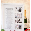 Wedding Gift Voucher Framed Poem And Photos