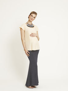 Fishtail Maternity Maxi Skirt