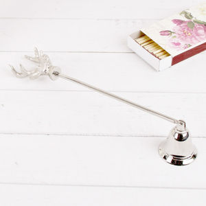 Stag Head Candle Snuffer - candles & candle holders