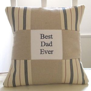 Dad 'Best Dad Ever' Cushion
