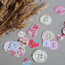 Garden Party Button Confetti